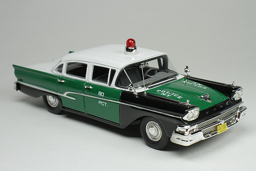 1958 Ford Custom 300 New York Police