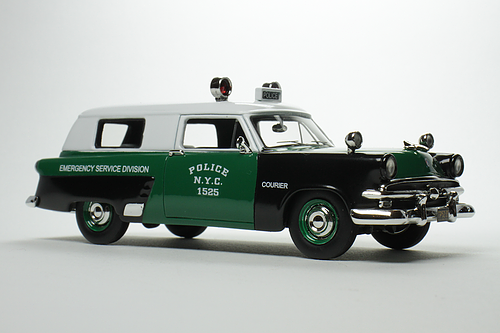 1953 Ford Courier New York Emergency Service