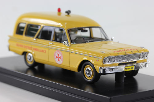 1963 Ford Fairlane 500 Ambulance Bourke District