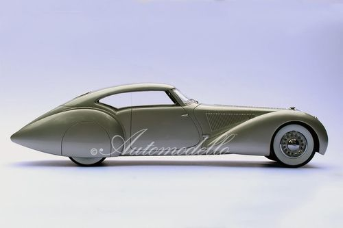 1937 Delage D8-120 S Aerodynamic Coupe by Pourtout